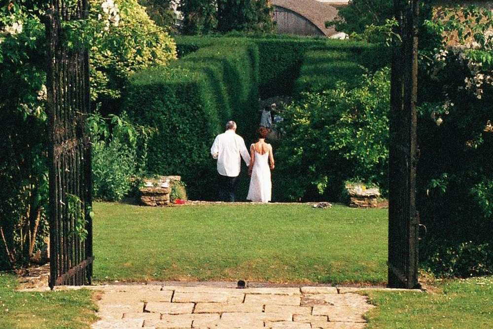 outdoor marriage ceremony